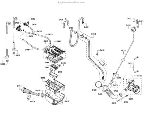 bosch dryer parts diagram bosch 00649277 dispenser appliancepartspros