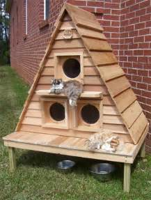 outdoor cat house plans cat house plans for home construction