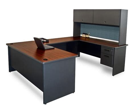 U Shape Office Desk Marvel Prnt59 Pronto U Shaped Desk