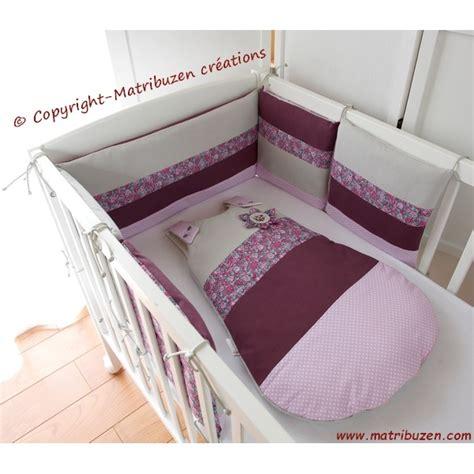 tour de lit et gigoteuse fille lit b 233 b 233 6 mois