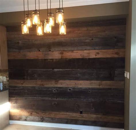 feature walls jmf custom wood features  barndoors