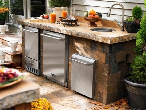 outdoor kitchen sinks ideas outdoor kitchen sinks and faucets popular railing stairs