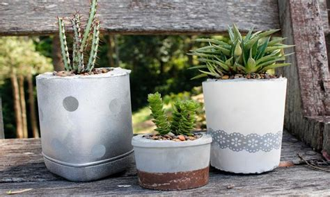 How To Make Planter Pots by 15 Lovey Diy Plant Pots You Can Make From Recycle Items