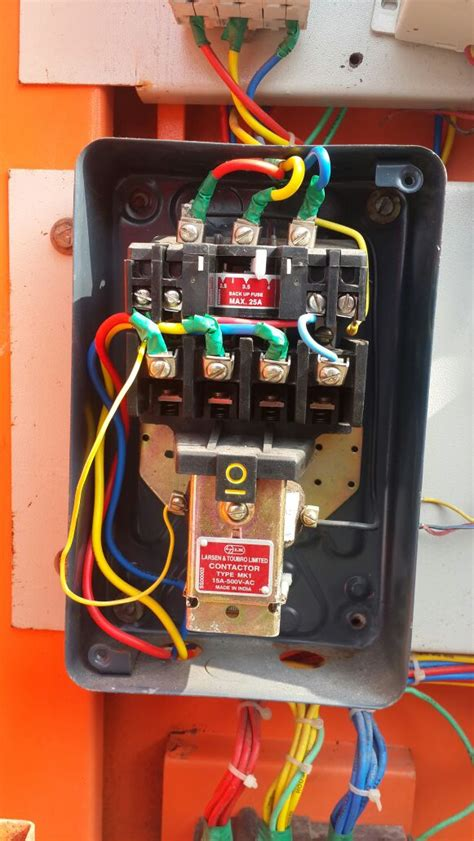 single phase submersible starter wiring diagram style by
