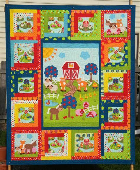 Farm Quilt Patterns by Farm Friends Quilt Pattern Hhq 7392 Advanced Beginner
