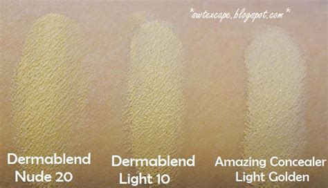 amazing cosmetics concealer light golden swtexcape another amazing concealer vichy dermablend