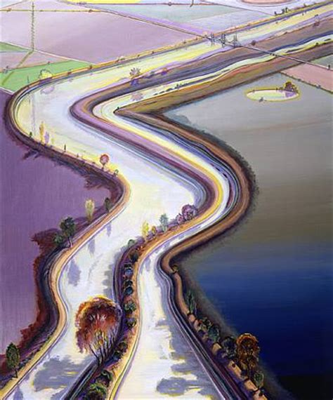 artists wayne thiebaud landscapes