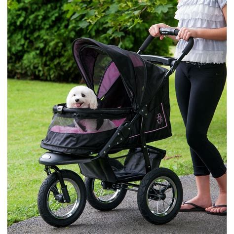 puppy strollers nv pet stroller pet gear all colors air filled tires for no zipper ebay