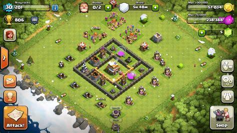 coc layout war base th5 coc th5 base war