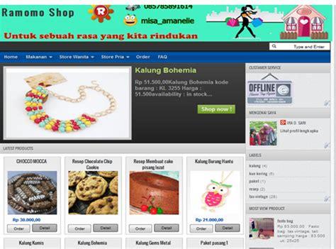 membuat toko online blog langkah langkah membuat toko online dengan blog