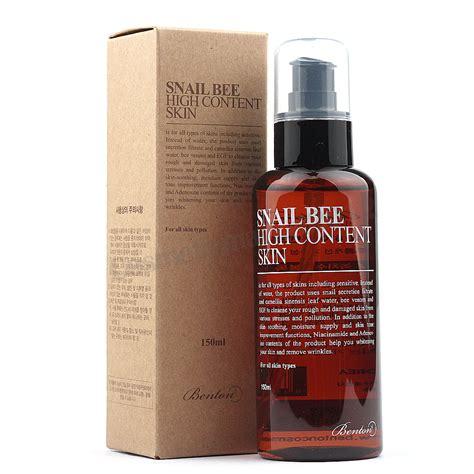 Benton Hight Content Skin 150 Ml Original benton snail bee high content skin 150ml free gifts ebay