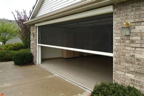 Roll Up Garage Door Screens garage screen doors picture the better garages garage