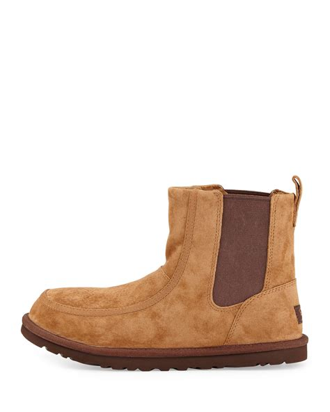 ugg light brown leather boots