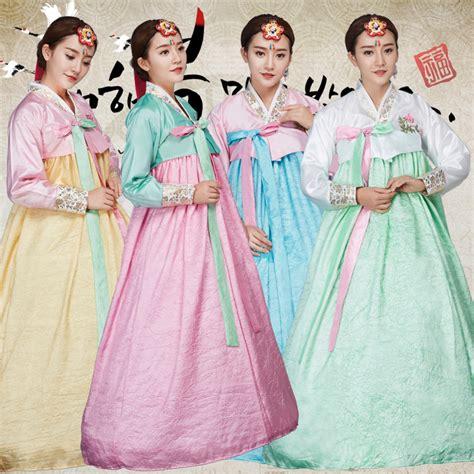 Hanbok Royal 1 traditional korean hanbok dress korea royal wedding costume korean folk stage