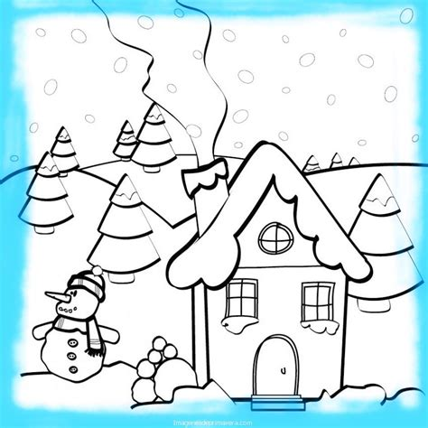 imagenes infantiles invierno pinta dibujos de invierno ni 241 os im 225 genes de primavera