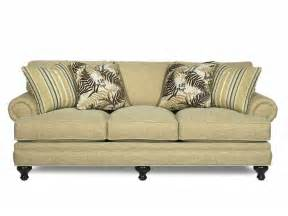 Paula Deen Sectional Sofas Paula Deen By Craftmaster Living Room Three Cushion Sofa P709950bd Sofas Unlimited