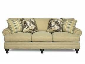 paula deen furniture sofa paula deen by craftmaster living room three cushion sofa