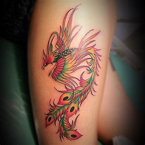 phoenix tattoo meaning 80 best designs meanings mysterious