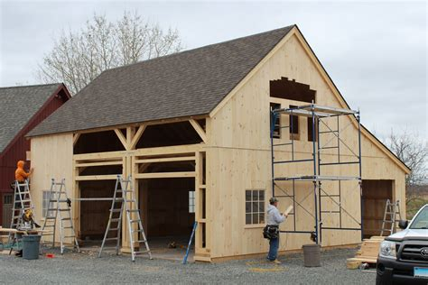 Post And Beam Sheds by Building Process Post And Beam Barns The Barn Yard