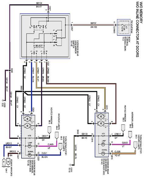 stx power mirror wiring page  ford  forum