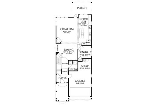 house plans with character eplans craftsman house plan narrow lot craftsman with