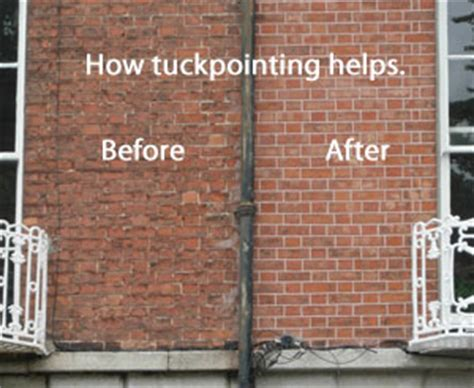 house needs the house needs tuckpointing
