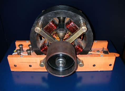 Tesla Generators File Tesla Wechselstromgenerator Jpg Wikimedia Commons