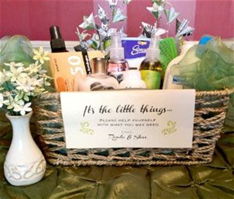 bathroom baskets for wedding guests best 25 wedding baskets ideas on pinterest rustic