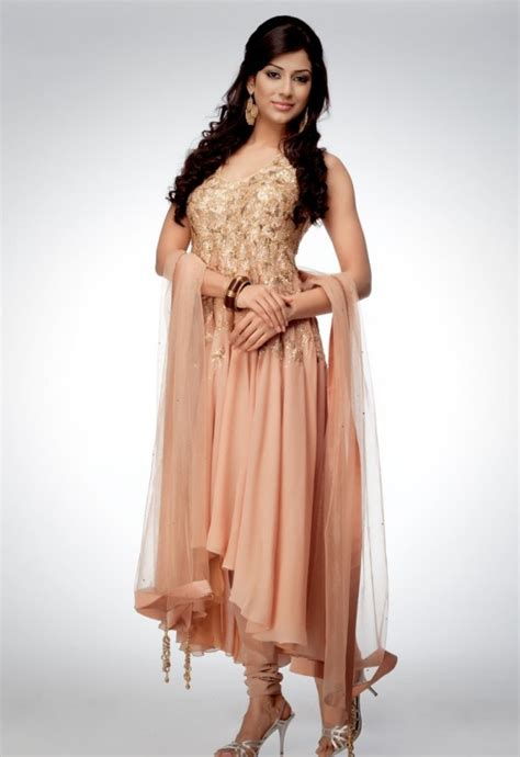 trends of anarkali dresses 2014 for women 0015 life n