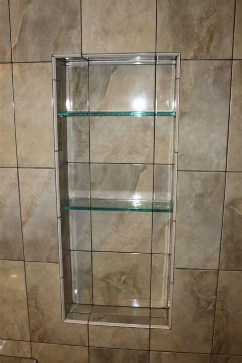 built in shower shelves custom built in shower shelving by popescu construction yelp