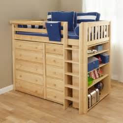 loft bed with storage master ii storage loft traditional beds by
