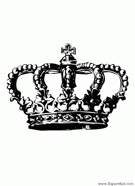 coloriage couronne de roi fonc 233 224 imprimer dans les