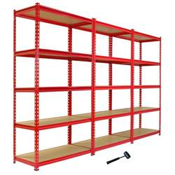 metal garage shelving system 3 garage shelving racking 90cm storage units heavy duty