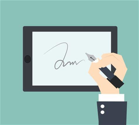 Lebenslauf Wo Unterschreibt Unterschrift In Der Onlinebewerbung Tipps Hinweise