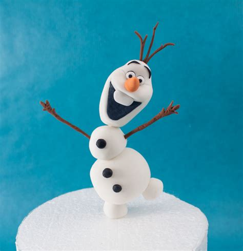 tutorial menggambar olaf frozen how to make olaf from frozen cakecentral com