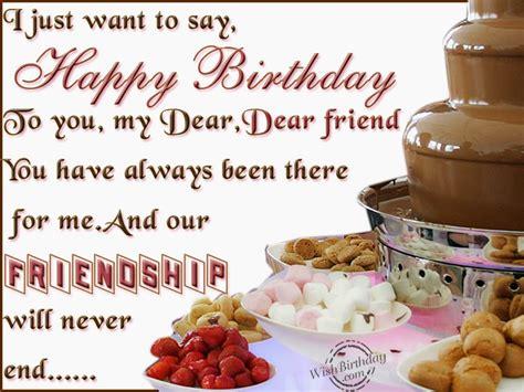 Happy Birthday Wishes To Dear One Happy Birthday Wishes For Dear Friend 171 Birthday Wishes