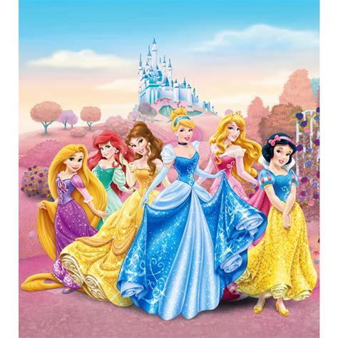Tapisserie Princesse Disney by Papier Peint Xl Ch 226 Teau Princesse Disney 180x202 Cm