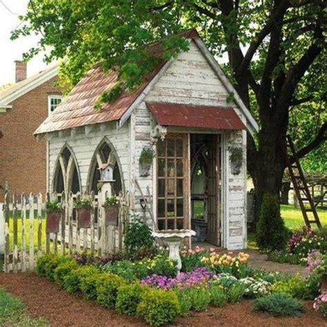 decorating garden shed garden envy pinterest