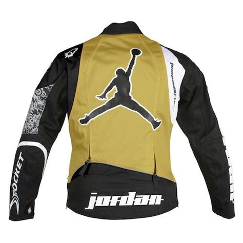 black and gold motorcycle jacket pin joe rocket 2k7 team replica leather jacket on