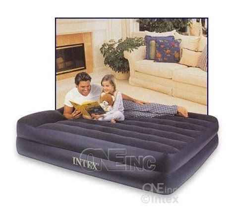 mid rise air bed w built in