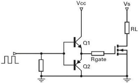 npn transistor driver circuit what is the purpose of a mosfet gate driver quora