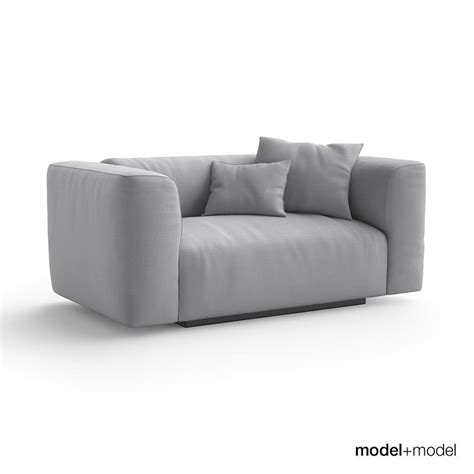 couch mate mdf italia mate sofas 3d model max obj fbx cgtrader com