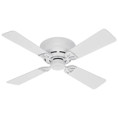 hunter 23866 low profile iii 42 inch indoor ceiling fan