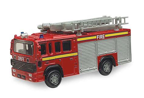 fire engine bedroom accessories uk british street scene vehicles 12cm volvo fire engine die cast model