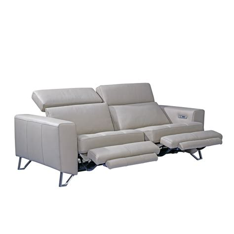 recliner couch with console aperto 3 seater recliner sofa beyond furniture