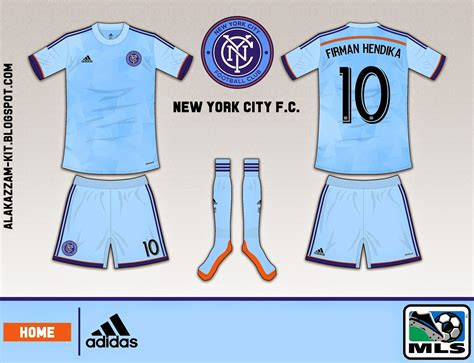 Kaos Mancanegara New York City Amerika 5 new york city f c home kit adidas alakazzam
