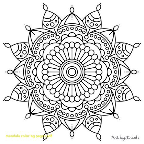 mandala coloring pages therapy mandala coloring pages pdf with flower mandala coloring