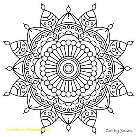 mandala coloring pages for adults pdf mandala coloring pages pdf with flower mandala coloring