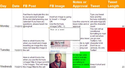 social media tactical plan template exle excel