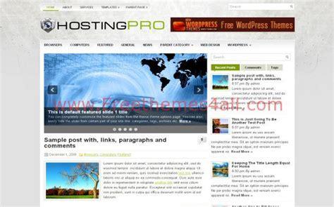 themes wordpress hosting free business web hosting free wordpress theme